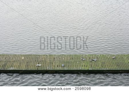 Boardwalk With Shoes