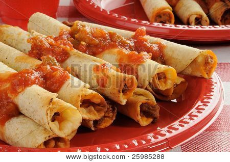 Rolled Up Tacos