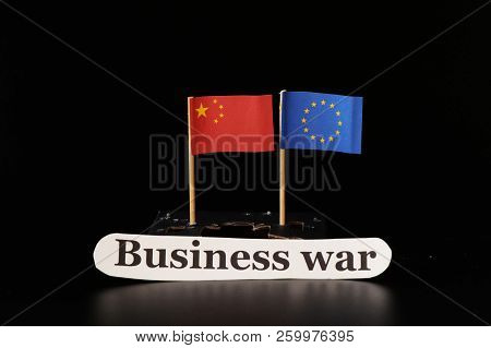 A Getting Bigger Trade War Between China And European Union. Futhermore China Investing Many Money I