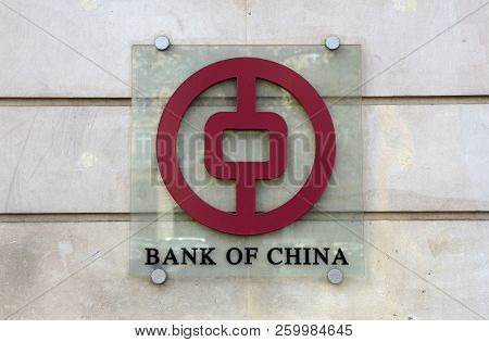 Sign Of The Bank Of China