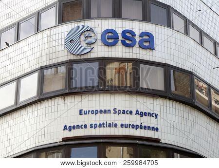 Building Of The Esa In Paris