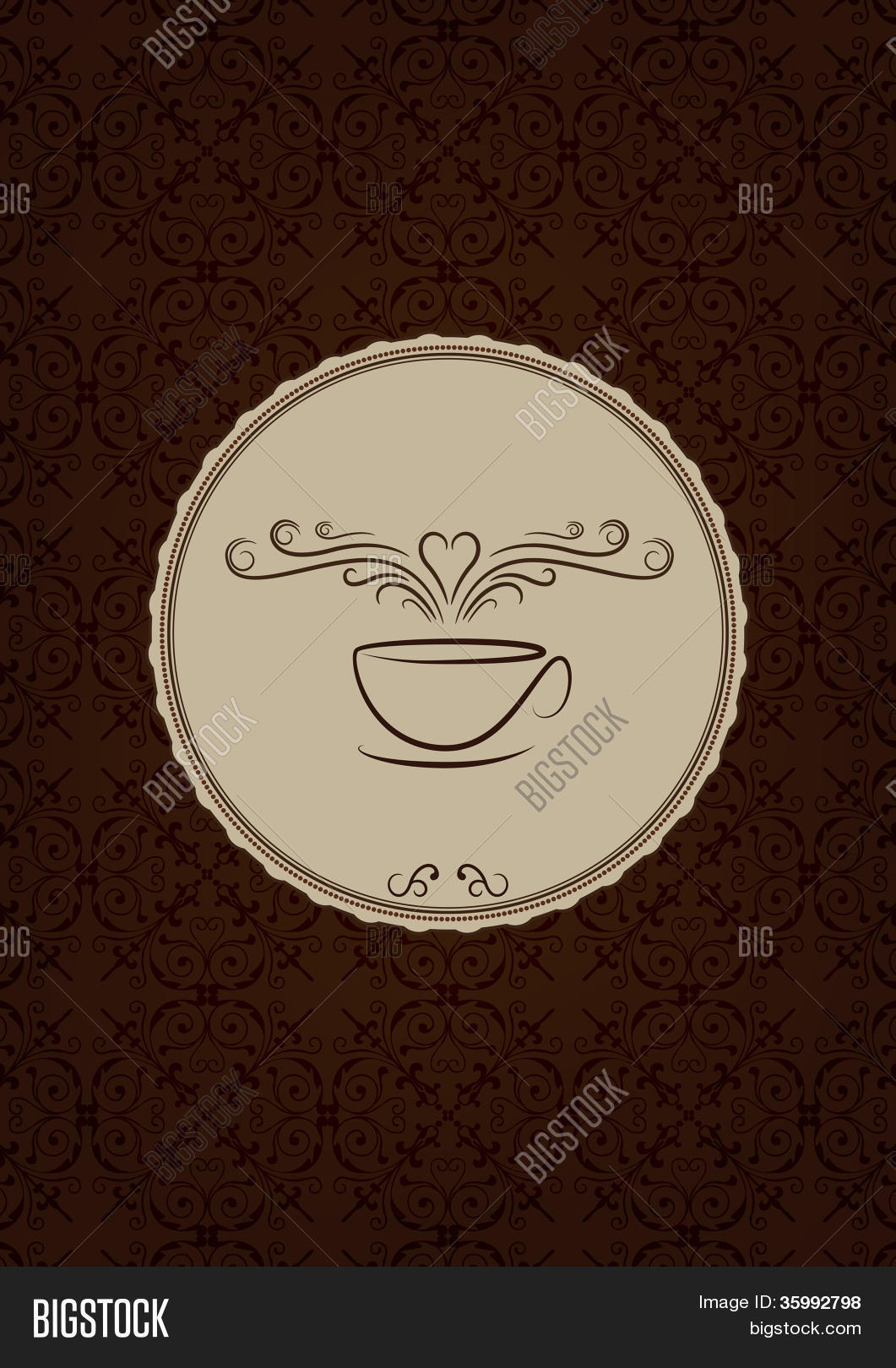 fancy coffee house vector photo free trial bigstock