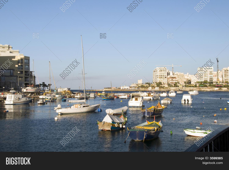 Maltese Luzzu Boat Image & Photo (Free Trial) | Bigstock