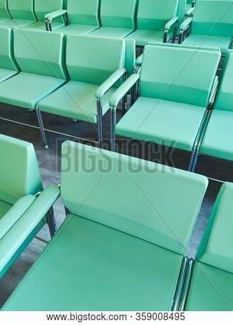 Empty Chairs, Hospital, Waiting Room, Hospital Reception, Interior,image Of Waiting Area In Hospital