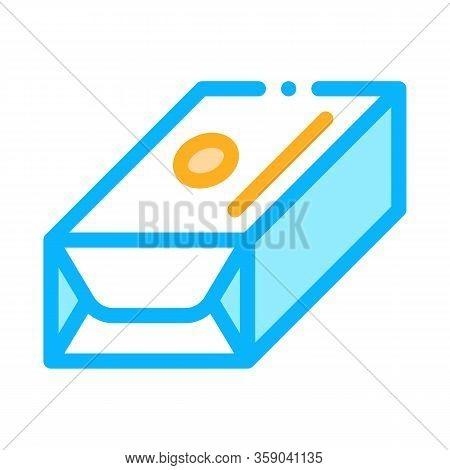 Pack Of Creamy Spread Icon Vector. Pack Of Creamy Spread Sign. Color Contour Symbol Illustration