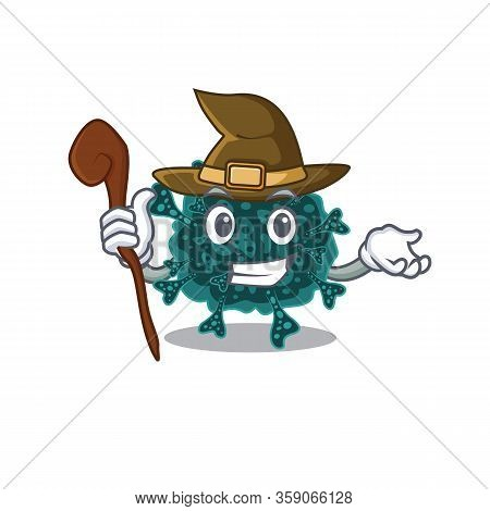 Herdecovirus Sneaky And Tricky Witch Cartoon Character