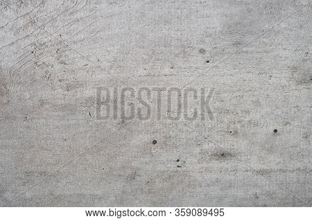 Texture Of An Old Concrete Wall. Background. Close-up.