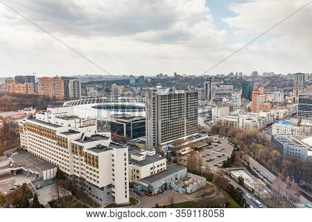 Olympic Stadium In Kyiv
