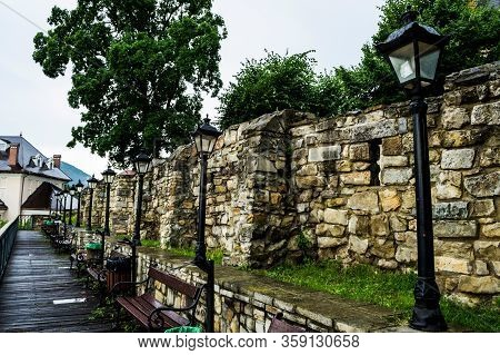 The Bridge Of The Royal Court Where You Can Sit On A Bench And Admire The Central Park Of The City O