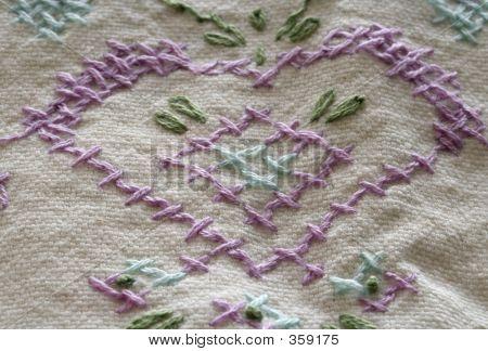 Heart Cross Stitch