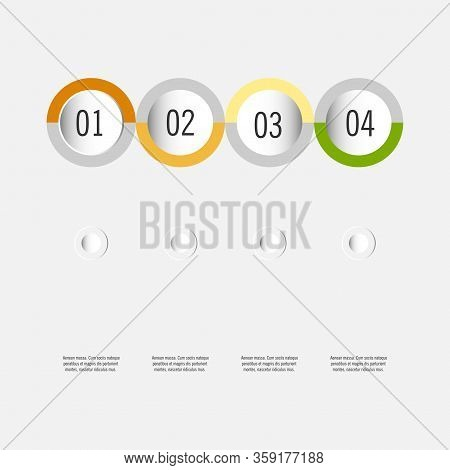 Modern Strips Infographics 10 Options Banner For Business Processes, Workflow, Diagram, Flowcharts