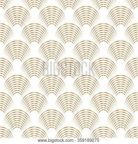 Art Deco Trellis Lines Seamless Pattern Vector Graphic Design. Geometric Art Deco Wallpaper Interior