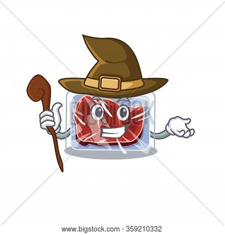 Frozen Beef Sneaky And Tricky Witch Cartoon Character