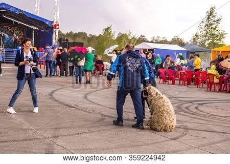 Kogalym, Russia-june 16, 2018: Sabantuy Celebration Event, Public Holiday Of The End Of Field Work