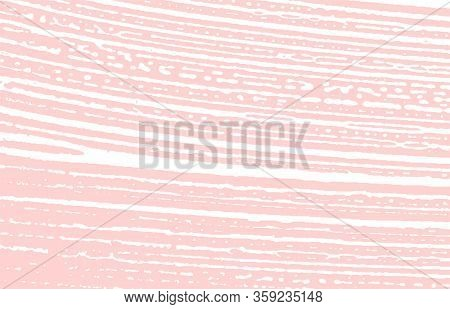 Grunge Texture. Distress Pink Rough Trace. Graceful Background. Noise Dirty Grunge Texture. Fetching