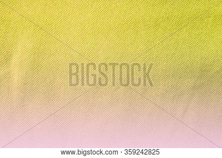 Abstract Gradient Bright Yellow And Pink Color Background. Smooth Gradient Pastel Colours Texture, E