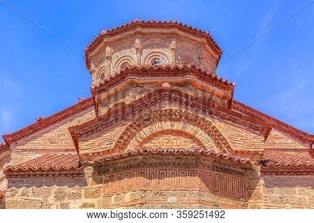 Partial View Of The Church At Great Meteoron Monastery In Kalambaka, Trikkala, Greece