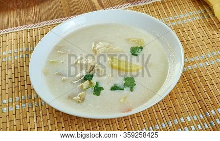 Whitefish, Leek And Celery Chowder