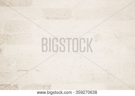 Weathered Stained Old Brick Wall Background. Brickwork Or Stonework Flooring Interior Rock Old Patte