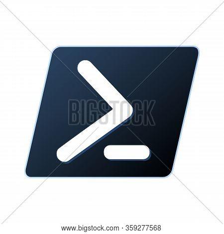 Emblem Of Powershell, Task Automation And Configuration Management Framework.