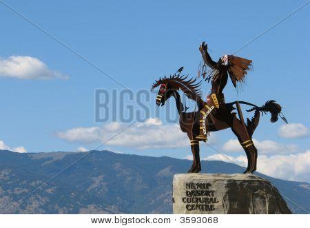 Proud Desert Warrior