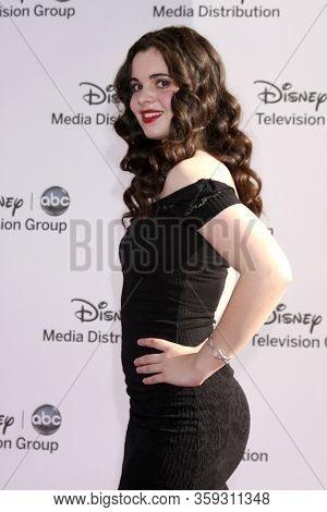 LOS ANGELES - MAY 19:  Vanessa Marano at the Disney Media Networks International Upfronts at the Walt Disney Studios on May 19, 2012 in Burbank, CA