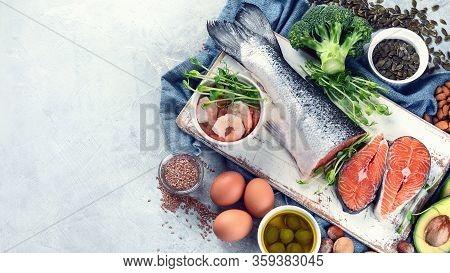 Omega-3 Fatty Acid Rich Foods.