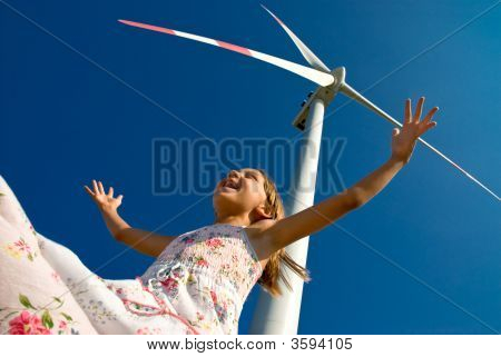 Playing With The Wind