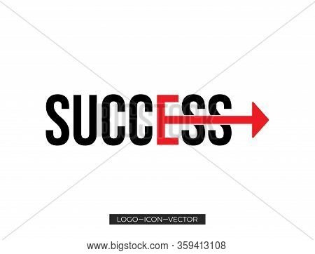 Success Icon Isolated On White Background From Seo Collection. Success Icon Trendy And Modern Succes