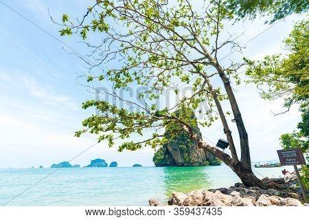 Railay Beach Tropical Forest Island