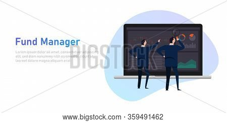 Fund Manager Employee Or Institution Such As A Bank, Pension Fund, Or Insurance Company That Manages