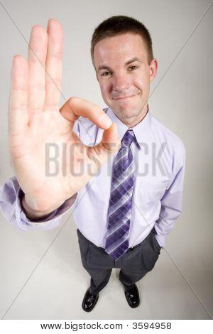 Business Man Gestures
