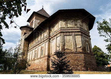 Strehaia Monastery, The Only Monastery In The Country With The Altar To The South. Romania