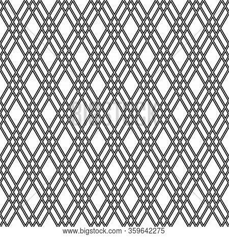 Beautiful Pattern Japanese Shoji Kumiko, Great Design For Any Purposes. Japanese Pattern Background