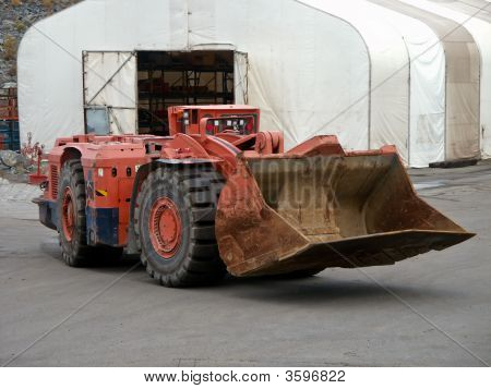 Colher de mineração