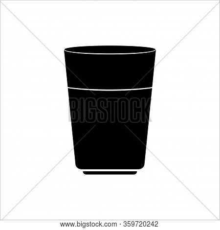 Mug Icon. Mug Icon Vector Flat Illustration For Graphic And Web Design Isolated On White Background