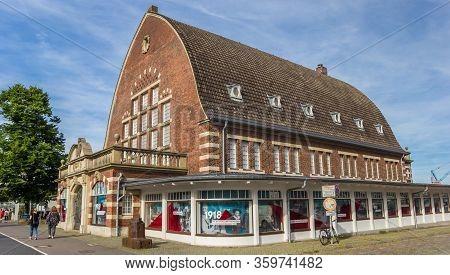 Kiel, Germany - June 24, 2019: Historic Building Of The Maritime Museum In Kiel, Germany