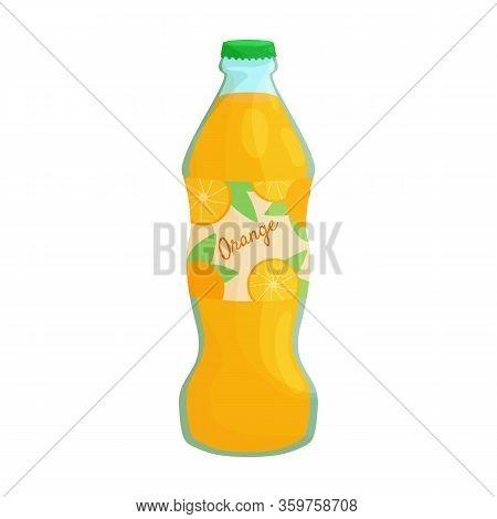 Bottle Of Soda Vector Icon.cartoon Vector Icon Isolated On White Background Bottle Of Soda.