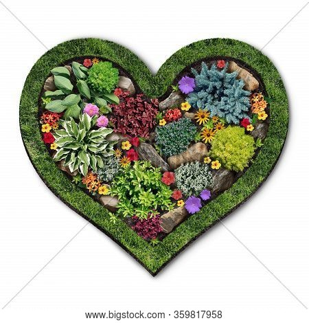 Gardening Love Garden And Gardening Landscape And Landscaping Design As A Perennial Lawn With A Flow