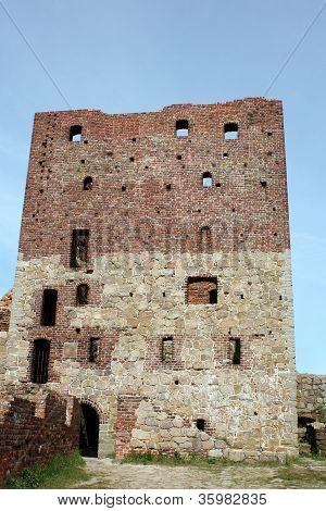 Hammershus ruins