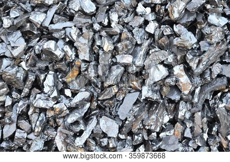 Mined And Enriched Coal Anthracite Fine Fraction.