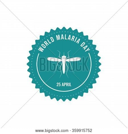 World Malaria Day Badges Vector