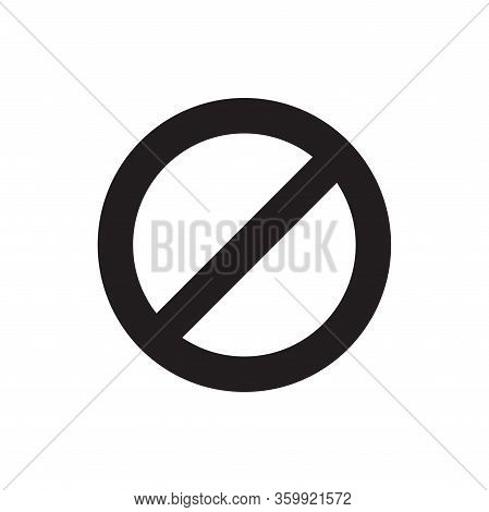Cancel Icon Isolated On White Background. Cancel Icon In Trendy Design Style For Web Site And Mobile