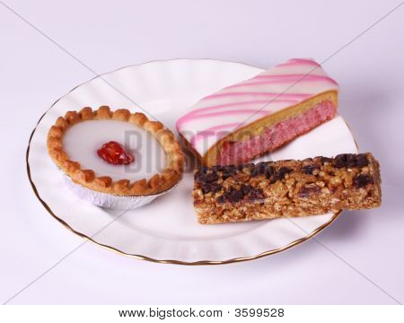 Cakes On A Gilded Plate