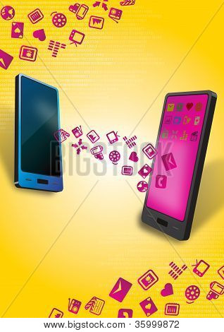 Smartphones Mobile Data Transfer