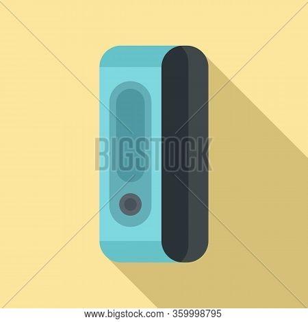 Sport Bracelet Icon. Flat Illustration Of Sport Bracelet Vector Icon For Web Design