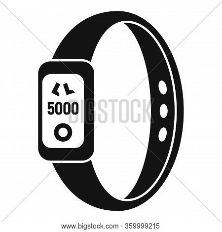 Heart Rate Smartwatch Icon. Simple Illustration Of Heart Rate Smartwatch Vector Icon For Web Design
