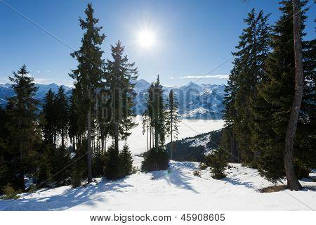 Ski Slopes on Schmitten, Kaprun Resort