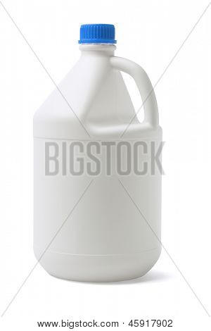 Plastic Container On White Background