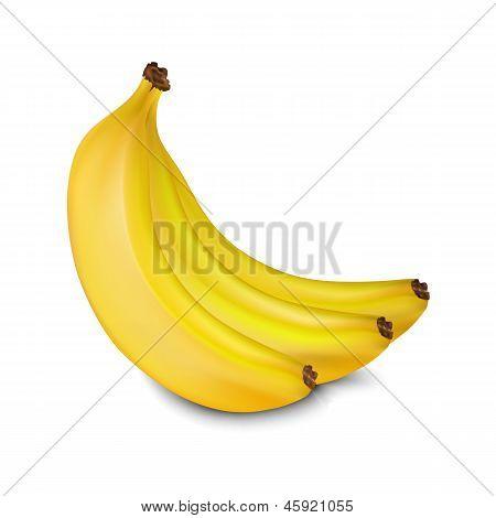 Вектор бананы